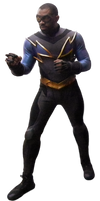 Classic Suit Black Lightning - Transparent!