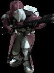 4th Sector Clone Marine Trooper - Transparent!