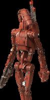 Battle Droid (Geonosis) - Transparent!