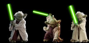 Jedi Master Yoda (2) - Transparent!