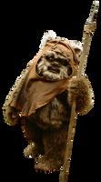 Wicket the Ewok - Transparent!