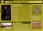Character Profile: Zed Martin.