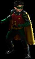 Robin (Damian Wayne) - Transparent!