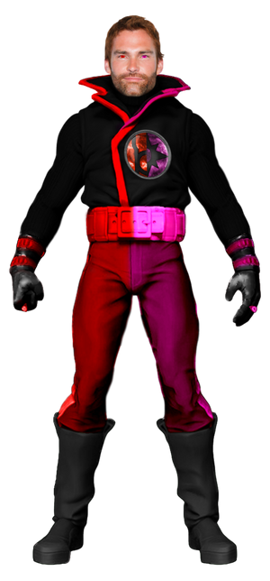 Red-Violet Lantern Guy Gardner - Transparent!