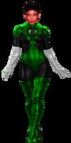 Green Lantern Katma Tui - Transparent!