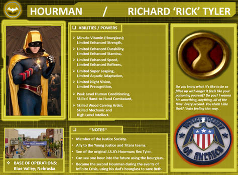 Character Profile: Hourman II.