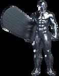 Silver Surfer - Transparent!