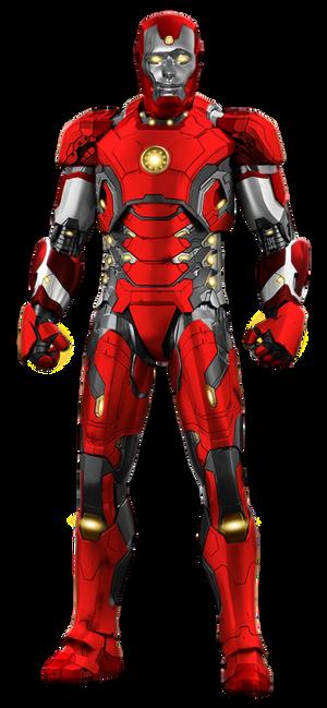 Iron Lad - Transparent!