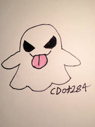 Spoopy Ghost by cdot284