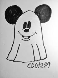 Ghost Mickey by cdot284