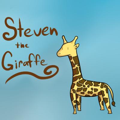 Steven the Giraffe by maplexsonic