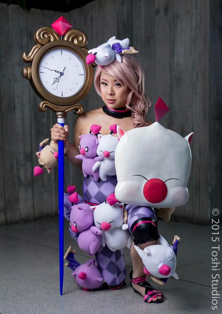 Moogle Queen from Lightning Returns by lillybearbutt