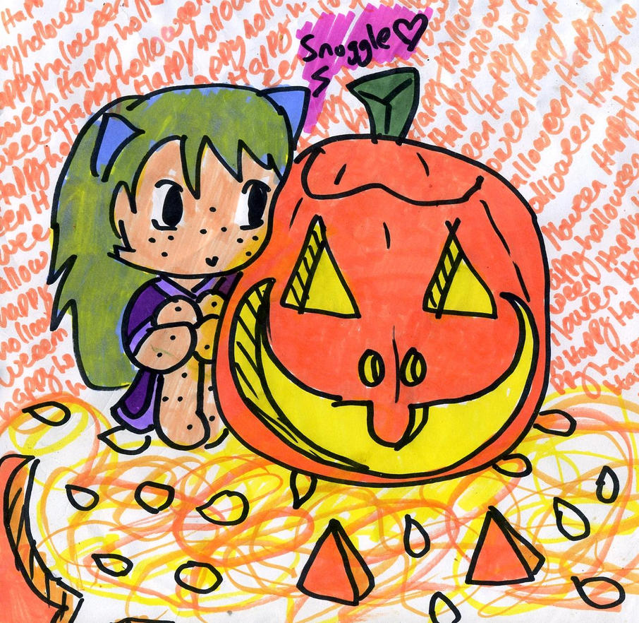 Happy Holloween by TaintedTruffle
