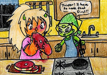 Cooking by TaintedTruffle