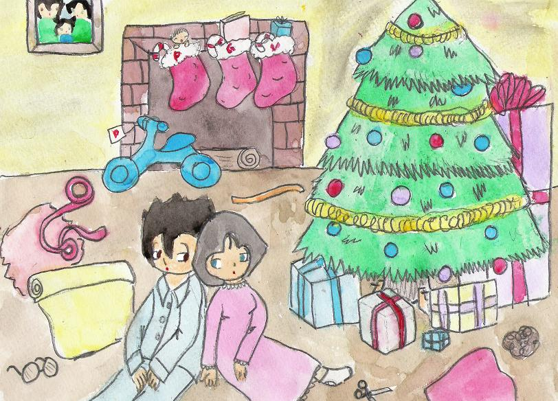 its not easey being santa by TaintedTruffle