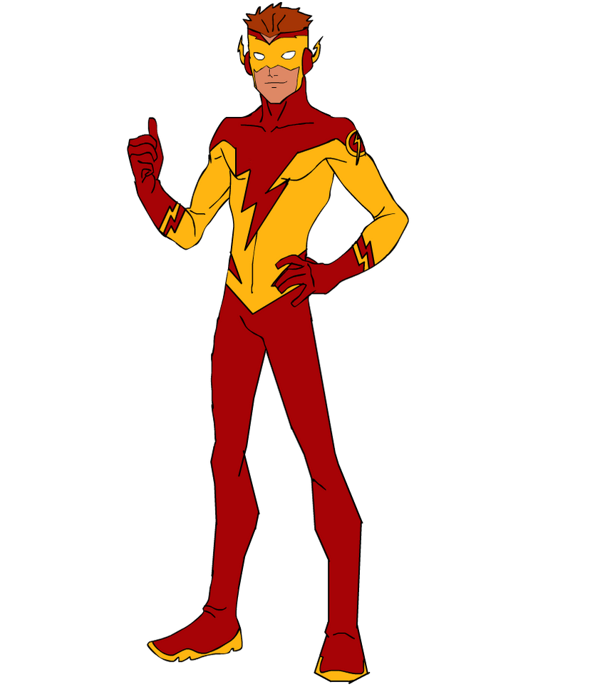 Young Justice Logo Young Justice Kid Flash 2 by