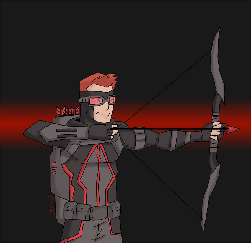 Red Arrow Earth 2 by DaJam22