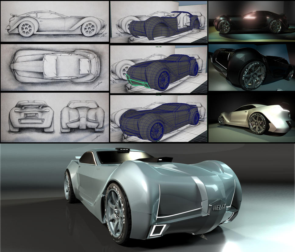 Helex 3D by Visual3Deffect