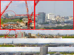 London 360 degree panoramic view from 90ft (27m) by AxteleraRay-Core