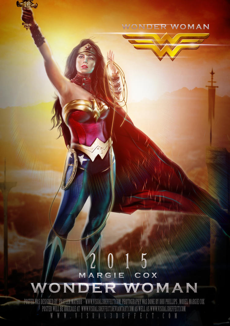 Wonder Woman 2015 Poster by Visual3Deffect