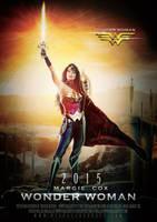 2015 Wonder Woman Teaser Poster by AxteleraRay-Core
