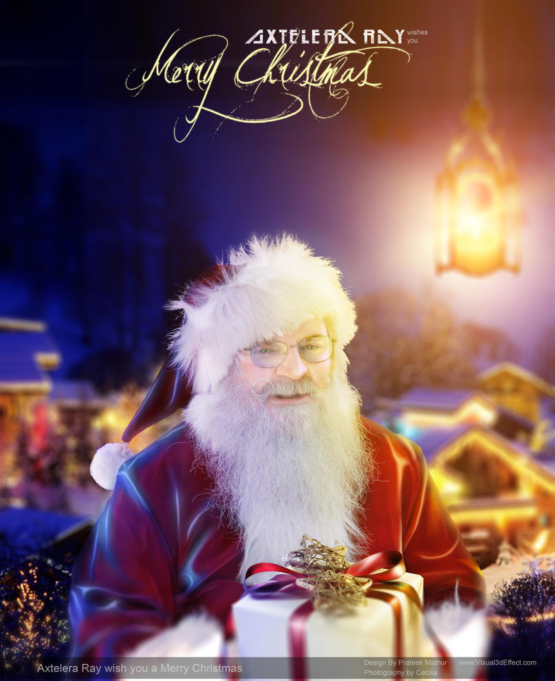 Santa Claus - Merry Christmas - Axtelera Ray by Visual3Deffect