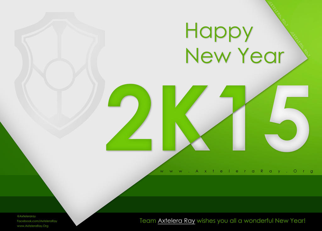 New Year 2015 - Axtelera Ray by Visual3Deffect