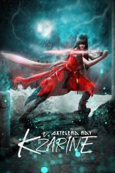 Kzarine - Concept Art - Poster v01 by AxteleraRay-Core