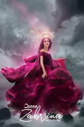 Queen Zabrina - Concept Art - Poster V01 by AxteleraRay-Core