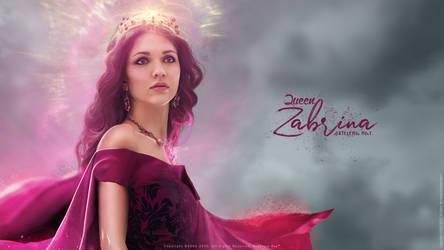Queen Zabrina - Concept Art - Wallpaper V01 by AxteleraRay-Core
