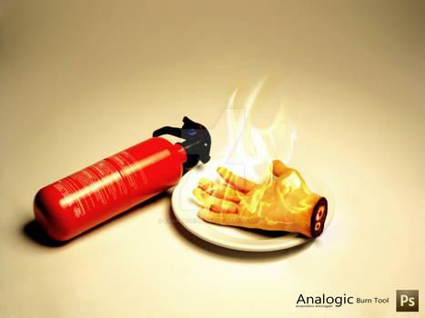 Analogic Burn Tool