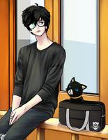 Persona 5 by ohitsdoodledreamer