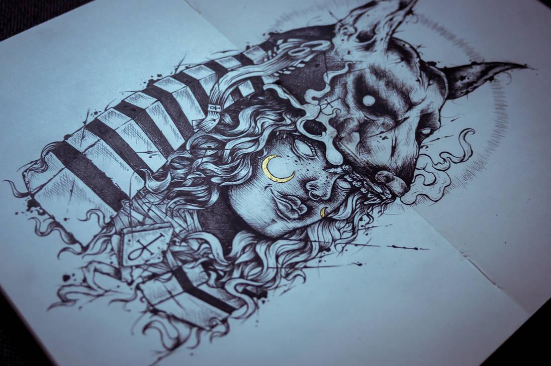 Anubis by KenshinPony