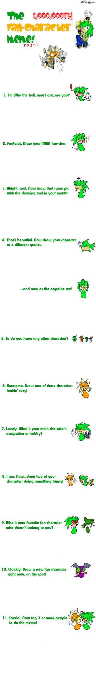 A freakin' Fan-character MEME by MolochTDL
