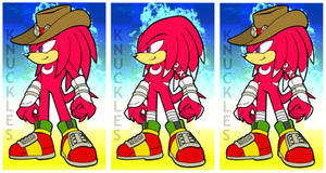 Knuckles Versions 2-4 by MolochTDL