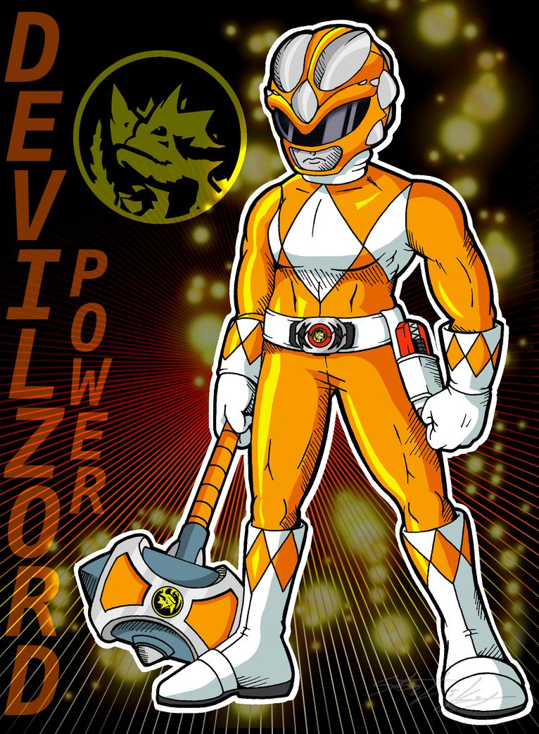 orange ranger by molochtdl on deviantart