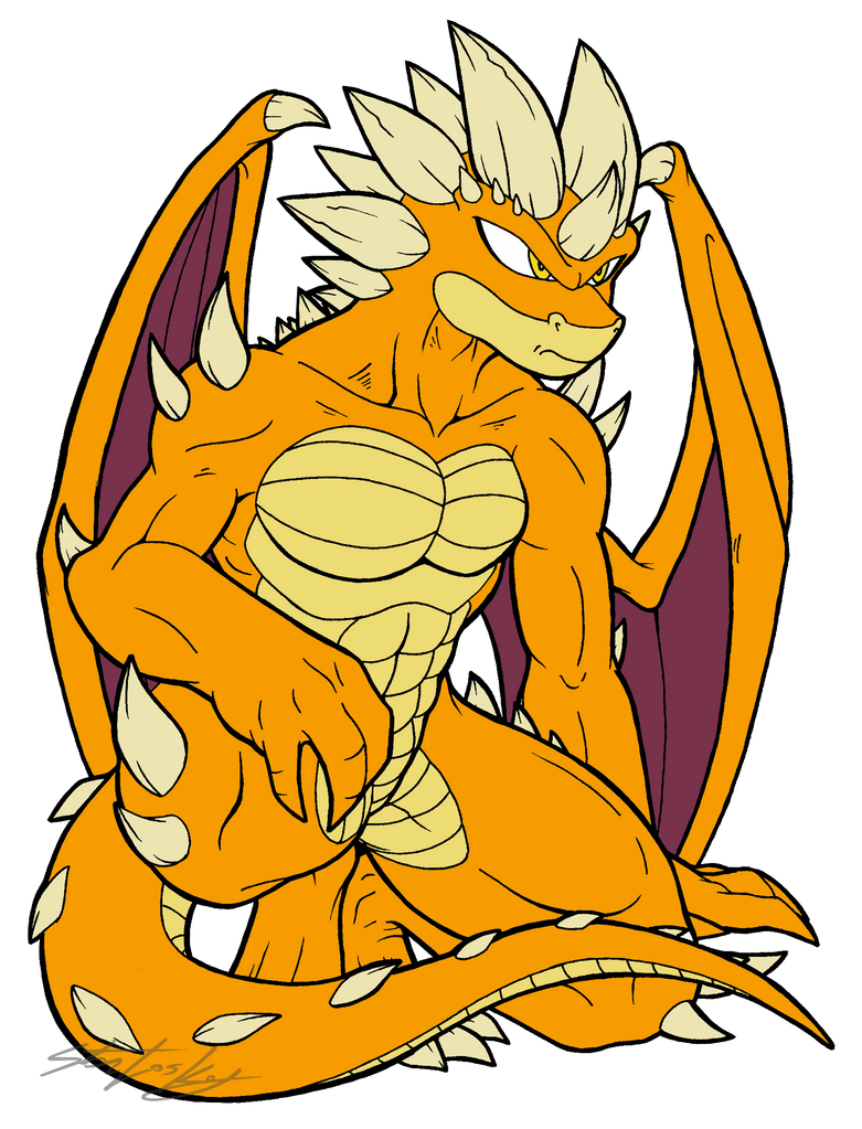 Devil Dragon by MolochTDL