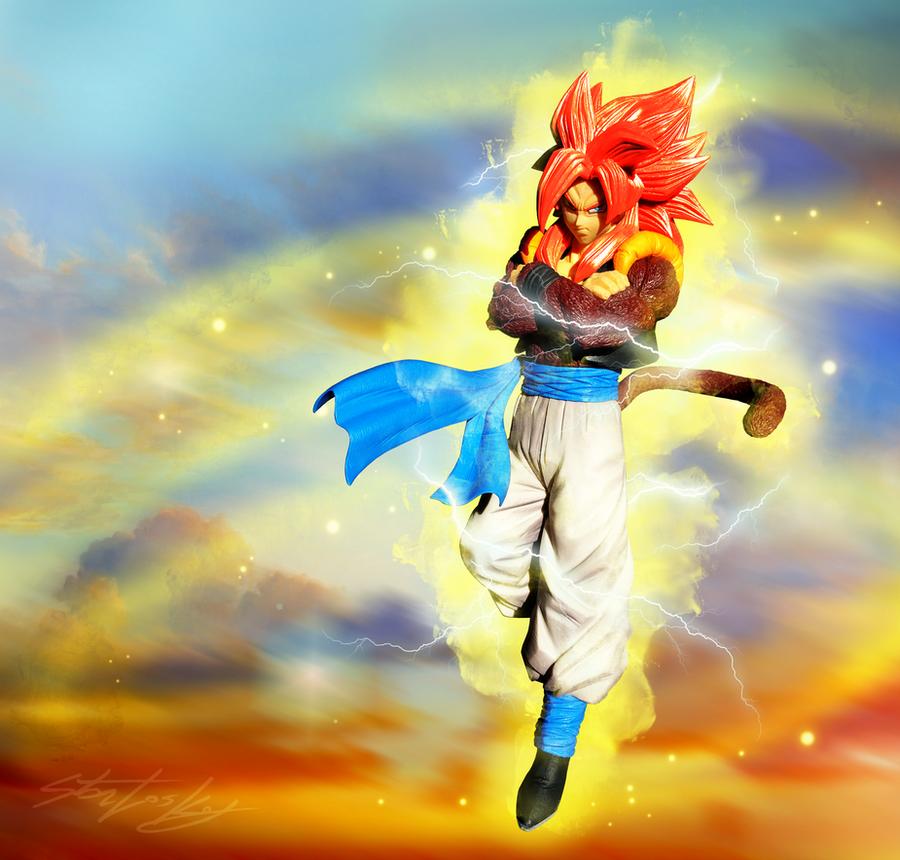 Gogeta - Super Saiyan 4 by MolochTDL