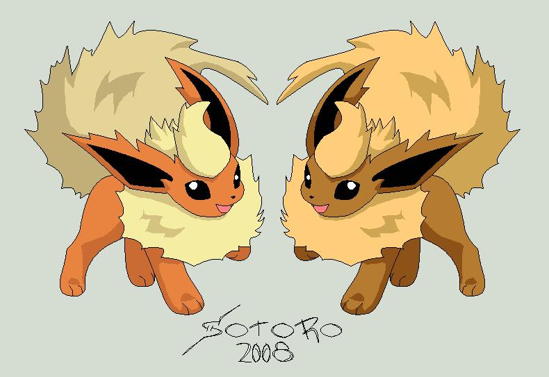 Shiny Flareon http   twila101 deviantart com art Pokemon-Flareon-and-S    Shiny Flareon Pokemon X
