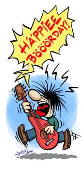 Happy Birthday - The Rocker