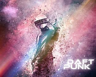 Daft-punk-(second-verision)-by-lonerramijpg by Eyesoneyes