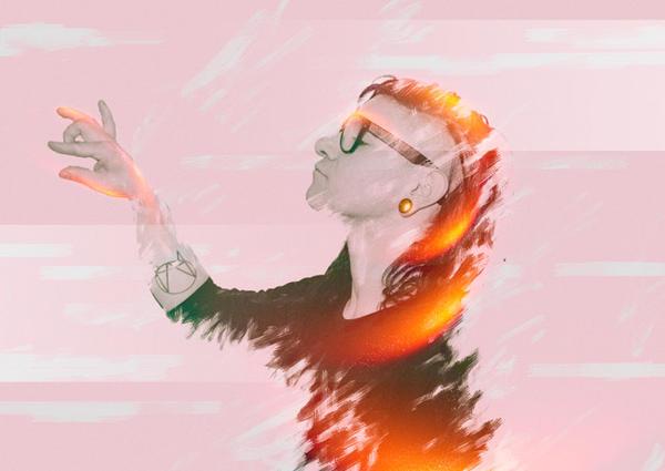 Skrillex ( In Light ) by LONERRAMI
