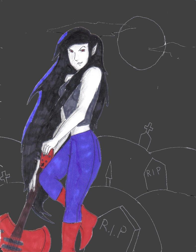 marceline the vampire queen varmints - 790×1011