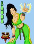 Laura Matsuda - Street Fighter V