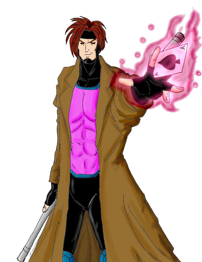 Gambit (X Men 90' Version) by PhenomenalDrawer