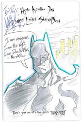 2009 SketchBook - Batman