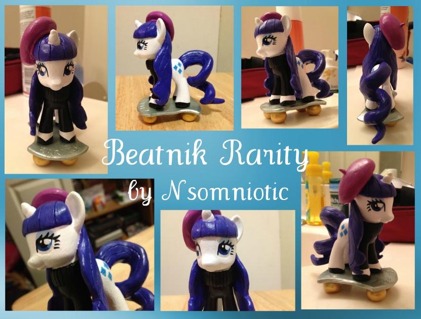 Beatnik Rarity - MLP Custom by Nsomniotic