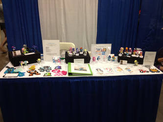 BronyCon '12 - My Booth by Nsomniotic