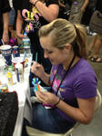 Painting at BronyCon by Nsomniotic
