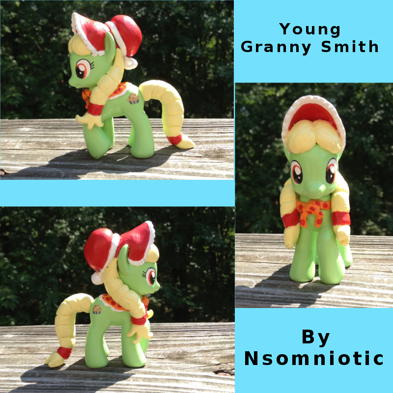 Young Granny Smith by Nsomniotic